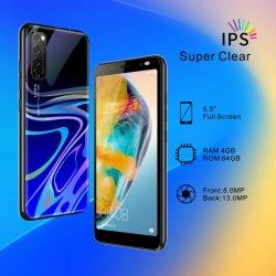 Venda por grosso de fábrica 5.5Inch mais barato desbloqueado Android Market Smart Phone Wireless WiFi telefone móvel de vídeo