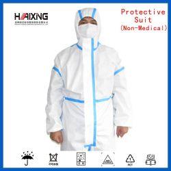제조자 직접 도매 병원, 공장, 슈퍼마켓을%s 질에 의하여 보장되는 격리 방어 한 벌 의학 의류