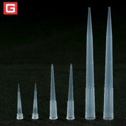 Pontas de pipeta 10UL 200UL 1000UL a granel descartável de 1ml/Caixa com Marcação ce&ISO