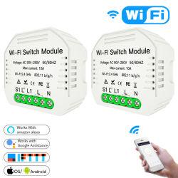 Telecomando senza fili nascosto dell'interruttore astuto di Wi-Fi DIY per gli elettrodomestici universali