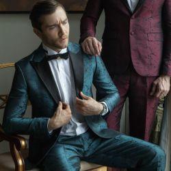 Ropa de moda ropa Hombre Chaqueta traje de pantalón pantalones trajes de hombre