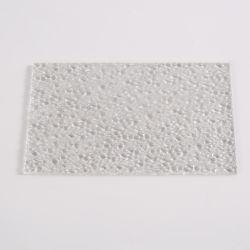루프 솔리드 시트 건축 자재용 폴리카보네이트 모양의 엠보싱 시트 온실 패널 스크래치 방지 UV 보호 100% 버진 원료