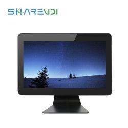 PC da pannello capacitivo tattile IP65 frontale da 10,4 pollici Display pubblicitario incorporato con schermo a sfioramento del computer