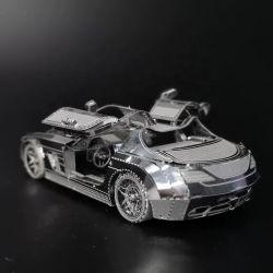 Coches de metal 3D rompecabezas juguetes para adultos Unisex
