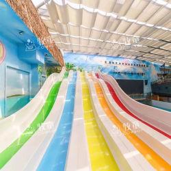 Heißer Verkaufs-multi Weg-Regenbogen-wellenförmiges Plättchen-Wasser-Park-Fiberglas-Pool-Plättchen für Verkauf