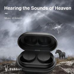 2021 [سبّت] [فووبلي] [توس] سماعات لاسلكيّة [بلوتووث] سمّاعة رأس [هيفي] يصوم وسائل سمعيّة يحمّل [إيبإكس5] مسيكة