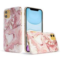 Cassa di marmo su ordinazione del telefono delle cellule alla rinfusa TPU IMD per il iPhone 11