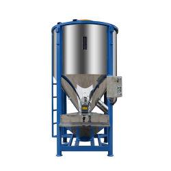 Plastikaufbereitentabletten-Rohstoff, der die materielle Heizung trocknet vertikale Mischer-Maschine zerquetscht
