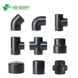 سعر تنافسي أنابيب PVC وتركيبات جميع الأحجام المتاحة Sch40 تركيبات أنابيب أنابيب أنابيب Sch80 PVC