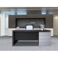 [ل] خشبيّة شكل [أفّيس دسك] مكتب طاولة عادة تصميم حديثة عادة تنفيذيّ مكتب [أفّيس فورنيتثر]