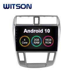 Witson Android 10 Auto Voiture Lecteur DVD pour Honda City 2008-2011 (A/C) automatique