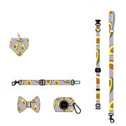 カスタム・デザインドッグ・ハーネス・カラー・ラース・ポーバッグネオプレン・パディング カスタムロゴを使用します