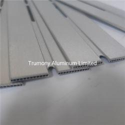 Dos filas Multi-Port tubo de aluminio para el intercambio de calor