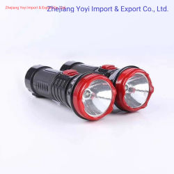 ABSプラスチック最も安いLED懐中電燈再充電可能な1W LEDのトーチ