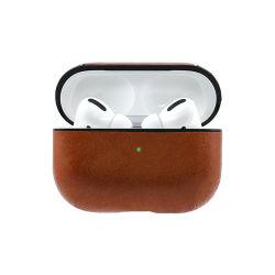 Роскошные провод фиолетового цвета кожи защитный футляр для воздуха Pod PRO PU кожаные сумки для наушников защитный футляр