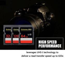 デジタルカメラの卸売のためのSDのカードのメモリ・カード32GB 64GB 16GB 8GBのフラッシュ駆動機構のSdxc SDHCのカードのクラス10高速C10