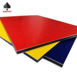 PVDF überzogenes Oberflächenzusammengesetztes Panel ACP-Aluminiumblatt für Schrank