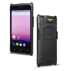 M6 مقاومة للماء Android PDA WiFi الماكينة شاشة تعمل باللمس محمولة باليد جهاز PDA الخاص بالماسح الضوئي للرمز الشريطي