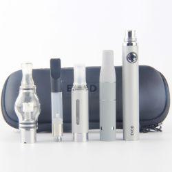 Portátil Evod erva seca Vaporizador Vaporizador Cdb Globe Atomizador e Mt3 Atomizador Evod 4 em 1 cigarros electrónicos Starter Kits
