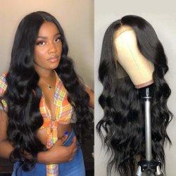 """Бразильский человеческого волоса кружева передней парики 100% необработанные Virgin кружева передней парики человеческого волоса 16"""""""