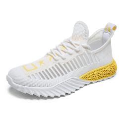4D het afgedrukte Aanstoten van de Trainers van de Fitness van de Tennisschoenen van de Sprong van de Looppas van de Mensen van de Schoenen van de Sport van Zolen In te ademen Vrije Openlucht