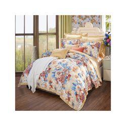 Belle de haute qualité a augmenté de 100%polyester Tissu Hometextile Bedsheet Disperse imprimé