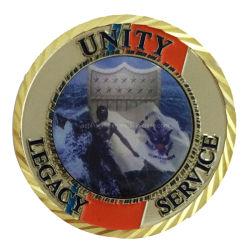 [أوسا] معدنة عسكريّ يستعصي ميكا مكافأة شرطة يحتفل تذكار عملة شرطة معدنة نوع ذهب تحدي مكافأة تذكار عملة (225)