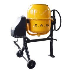 Cm120 120L CE aprobada eléctrico portátil cemento/Hormigonera con dos ruedas