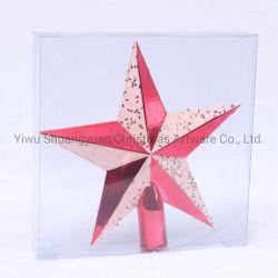 La estrella de navidad artificial colgando de las vacaciones Boda decoración regalos artesanías adorno gancho suministros
