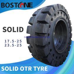 O pneu Raod 17.5-25 OTR sólido Pneus para pá carregadeira de rodas