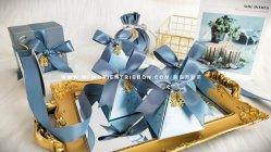 Kerstmis Satijn Edge Organza Satin grosgrain Hemp Gingham Taffeta Ribbon Transparante metalen linten haarboog voor cadeaus/cadeau doos verpakking/bogen/kleding/decoratie