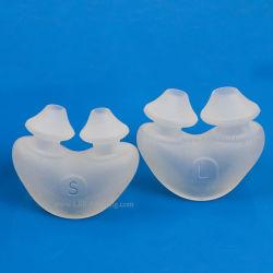 Liquid注入型による使い捨て可能な非出口の低流速のシリコーンの鼻のCannula