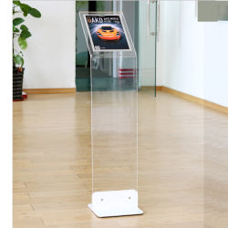 Automotive 4s Store Advertising Acryl A4 Poster Holder Display