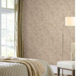 Alto grau de PVC simples arte de parede à prova de papel luxo elegante parede de vinil para decoração de construção