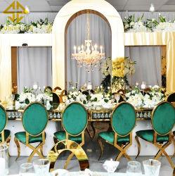 사와도매 모덴 디자인 식당 가구 스테인리스 스틸 웨딩 레스토랑 호텔 결혼식 이벤트 테이블 홈 연회 홀 파티 사용