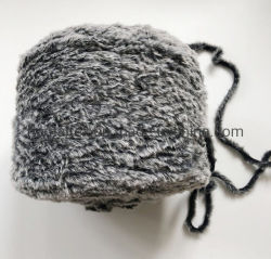 Gaarm Fur Yarn Soft Warm Winter Polyester Faux Fur Yarn الينينغ يارن اليدوية