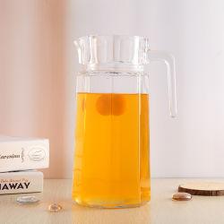 1,5 л очистить стекло водой&кувшин для сока с ручкой