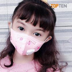 Kid's KN95 respirador para partículas con válvula de darte de alta calidad de plena protección Mascarilla N95