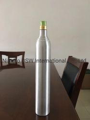Aleación de aluminio de 0.7L del cilindro de gas de uso de oxígeno