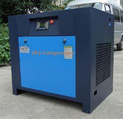 220V 440V 80cfm 2m3/min 100/120/150psi a 15 Kw 20HP Compresor de Aire de Tornillo con Secador de Aire