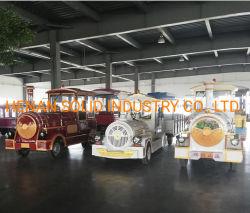 Parque temático atracciones turísticas de los trenes eléctricos Trackless mini centro comercial interior tren
