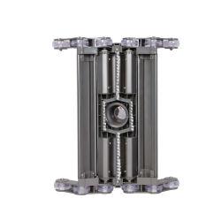 Acessórios de vácuo da cabeça do filtro de liga de alumínio para a Piscina