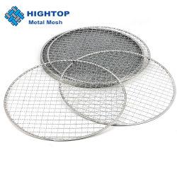 Fuori porte forma rotonda 304 acciaio inox portatile cottura carbone Griglia barbecue griglia a rete