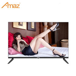 2021 OEM 55 Polegadas Tv 4K Ross Metal Ouro Smart TV tela plana TV LED inteligente