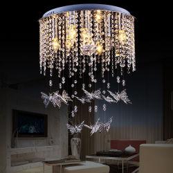 مصابيح سقف كريستالية حديثة رخيصة مع مصباح كريستالي الفراشة (WH-CA-43)