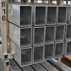 Alliage en aluminium anodisé aluminium extrudé Square/rondes/plat/Tube ovale