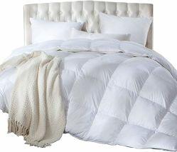 Acolchada de algodón blanco edredón de plumas y plumón de pato Ganso Llenado - toda la temporada de insertar o conjunto de ropa de cama edredones Stand-Alone Shell 90 Colcha abajo