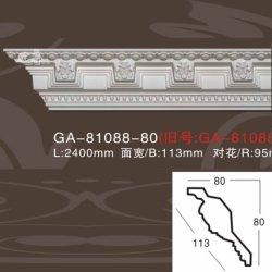 Hauptdekor-mit hoher Schreibdichtepolyurethan-Schaumgummi-Krone, die für indirekte Beleuchtung-grundiertes Weiß formt