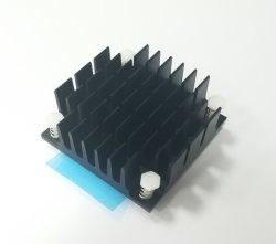 푸시 핀 알루미늄 방열판 45X45X15.5mm