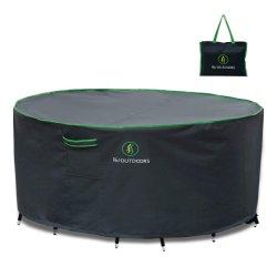 Mesa Redonda de medio juego de comedor sillas de cubierta